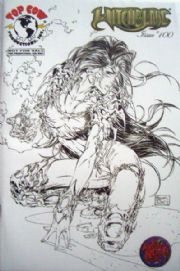 Witchblade #100 Wizard World RRP Sketch Variant Top Cow comic book